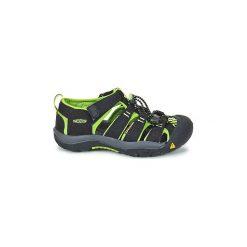 Sandały sportowe Dziecko  Keen  KIDS NEWPORT H2. Czarne buty sportowe dziewczęce Keen. Za 188,30 zł.