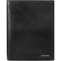 Duży Portfel Męski STRELLSON - Billfold V8 4010001300 Black 900. Czarne portfele męskie Strellson, ze skóry. W wyprzedaży za 189,00 zł.