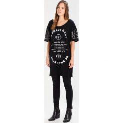 T-shirty damskie: Gaudi Tshirt z nadrukiem black