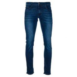 Mustang Jeansy Męskie Oregon Tapered 33/32 Ciemnoniebieskie. Niebieskie jeansy męskie regular Mustang. Za 398,00 zł.