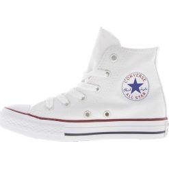 Converse - Trampki dziecięce Chuck Taylor All Star. Białe buty sportowe dziewczęce marki Converse, z materiału. W wyprzedaży za 159,90 zł.