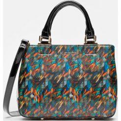 Torebki klasyczne damskie: Multikolorowa torebka damska