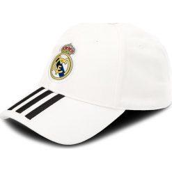 Czapka z daszkiem adidas - Real 3S Cap CY5600 Cwhite/Black. Białe czapki z daszkiem męskie Adidas, z bawełny. Za 69,00 zł.