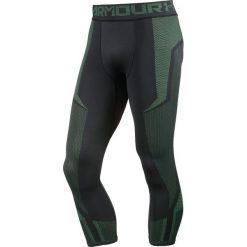 Spodnie męskie: Spodnie dresowe w kolorze czarno-zielonym