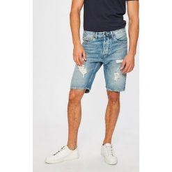 Tommy Jeans - Szorty. Szare spodenki jeansowe męskie marki Tommy Jeans, casualowe. W wyprzedaży za 319,90 zł.