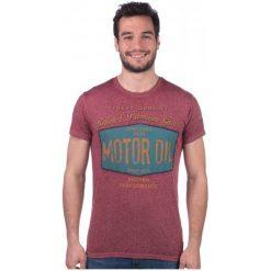 Brave Soul T-Shirt Męski Rig S Różowy. Fioletowe t-shirty męskie marki KIPSTA, m, z elastanu, z długim rękawem, na fitness i siłownię. W wyprzedaży za 40,00 zł.