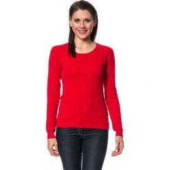 Swetry damskie: Sweter w kolorze czerwonym