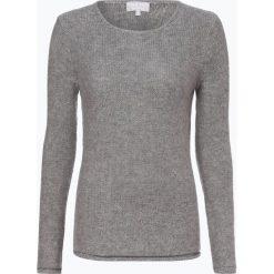 Marie Lund - Sweter damski z czystego kaszmiru, szary. Szare swetry klasyczne damskie Marie Lund, l, z dzianiny. Za 399,95 zł.