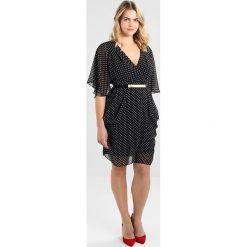 Sukienki hiszpanki: City Chic DRESS SPOT Sukienka letnia black/white