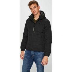 G-Star Raw - Kurtka. Czarne kurtki męskie pikowane marki G-Star RAW, l, z poliesteru, retro, z kapturem. W wyprzedaży za 699,90 zł.