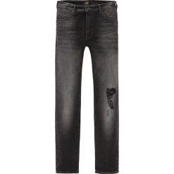 """Spodnie męskie: Dżinsy """"Rider"""" w kolorze czarnym"""