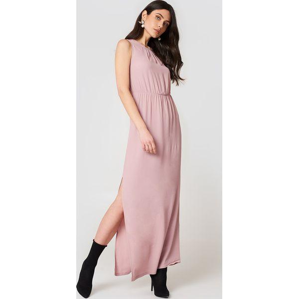 5590f89f91 Minimum Sukienka maxi Jilian - Pink - Różowe sukienki damskie koronkowe  marki Minimum