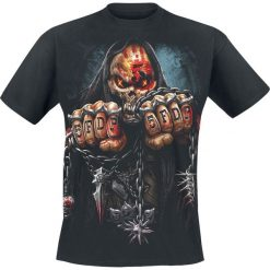 Five Finger Death Punch Game Over T-Shirt czarny. Niebieskie t-shirty męskie z nadrukiem marki Reserved, l, z okrągłym kołnierzem. Za 94,90 zł.