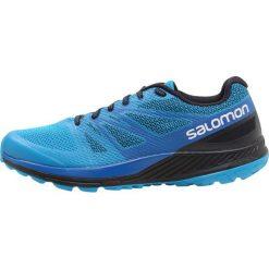 Salomon SENSE ESCAPE Obuwie do biegania Szlak hawaiian surf/snorkel blue/night. Niebieskie buty do biegania męskie marki Salomon, z materiału. W wyprzedaży za 399,20 zł.