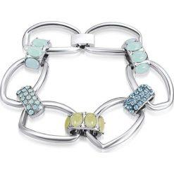 Bransoletki damskie na nogę: Bransoletka z kryształami Swarovski