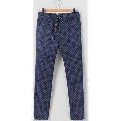 Odzież chłopięca: Spodnie z drobnym nadrukiem 10-16 lat