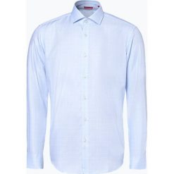 HUGO - Koszula męska – Vordon, niebieski. Niebieskie koszule męskie w kratę marki HUGO, m, z bawełny. Za 399,95 zł.