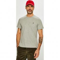 Polo Ralph Lauren - T-shirt. Szare koszulki polo marki Polo Ralph Lauren, l, z bawełny. Za 169,90 zł.