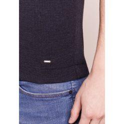 BOSS Orange TRIXER Tshirt z nadrukiem dark blue. Niebieskie koszulki polo BOSS Orange, m, z nadrukiem, z bawełny. Za 289,00 zł.