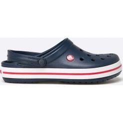 Crocs - Klapki Crocband. Szare klapki męskie marki Crocs, z gumy. W wyprzedaży za 169,90 zł.