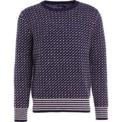 Swetry klasyczne męskie: J.CREW Sweter navy/white