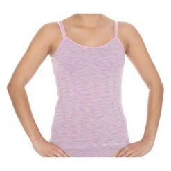 Bluzki sportowe damskie: Brubeck Koszulka damska Camisola Fusion różowa r. XL (CM10110)