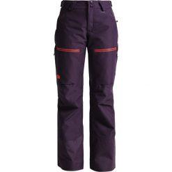 The North Face Spodnie narciarskie dark eggplant purple. Różowe bryczesy damskie marki The North Face, m, z nadrukiem, z bawełny. W wyprzedaży za 861,75 zł.