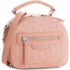 Torebka MONNARI - BAG5470-004 Pink. Brązowe torebki klasyczne damskie marki Monnari, w paski, z materiału, średnie. W wyprzedaży za 119,00 zł.