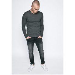 Casual Friday - Sweter. Szare swetry klasyczne męskie marki Casual Friday, l, z bawełny, z okrągłym kołnierzem. W wyprzedaży za 79,90 zł.