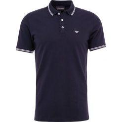 Emporio Armani Koszulka polo blu scuro. Szare koszulki polo marki Emporio Armani, l, z bawełny, z kapturem. Za 419,00 zł.
