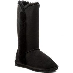 Buty EMU AUSTRALIA - Platinum Kolora WP10534 Black. Czarne buty zimowe damskie EMU Australia, ze skóry, na niskim obcasie. Za 859,00 zł.