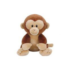 Maskotka TY Baby Banana Małpa 15cm. Brązowe przytulanki i maskotki TY INC, z materiału. Za 24,99 zł.