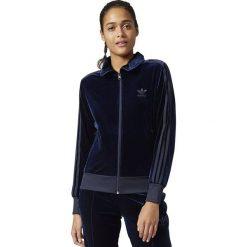 Adidas Bluza damska Firebird Track granatowa r. 40 (BQ8040). Szare bluzy sportowe damskie marki Adidas, l, z dresówki, na jogę i pilates. Za 260,90 zł.