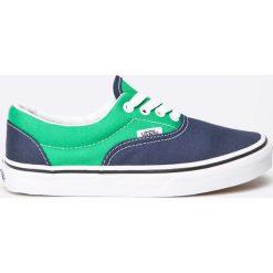 Vans - Tenisówki dziecięce Era. Szare buty sportowe dziewczęce marki Vans, z gumy, na sznurówki. W wyprzedaży za 89,90 zł.
