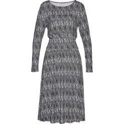Sukienki: Sukienka bonprix biały z nadrukiem