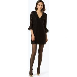 Guess Jeans - Sukienka damska, czarny. Czarne sukienki koronkowe Guess Jeans, na imprezę, xs, z aplikacjami. Za 619,95 zł.