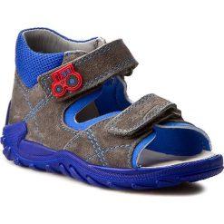 Sandały SUPERFIT - 0-00011-06 S Stone Kombi. Szare sandały męskie skórzane marki Superfit. W wyprzedaży za 189,00 zł.