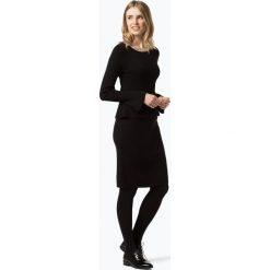 Apriori - Sukienka damska, czarny. Niebieskie sukienki z falbanami marki Apriori, l. Za 449,95 zł.