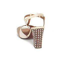 Sandały Chie Mihara  AGADIR. Brązowe sandały damskie Chie Mihara. Za 943,20 zł.