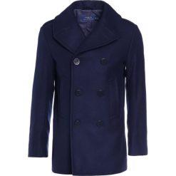 Płaszcze męskie: Polo Ralph Lauren SOLID PEACOAT MODERN Krótki płaszcz navy