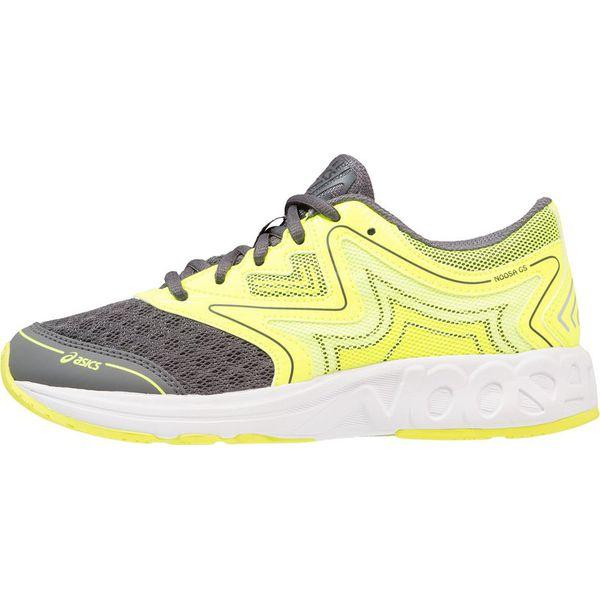 b689e38e ASICS NOOSA Obuwie do biegania treningowe carbon/safety yellow/mid grey -  Szare buty sportowe damskie Asics, z tworzywa sztucznego. Za 289,00 zł.
