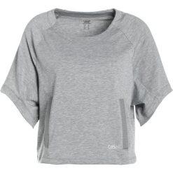 Casall BOXY CREWNECK Tshirt z nadrukiem grey melange. Szare t-shirty damskie Casall, z nadrukiem, z elastanu. W wyprzedaży za 191,40 zł.