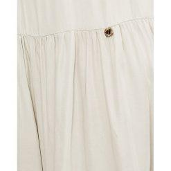 Answear - Sukienka. Szare sukienki mini ANSWEAR, na co dzień, l, z tkaniny, casualowe, z okrągłym kołnierzem. W wyprzedaży za 89,90 zł.