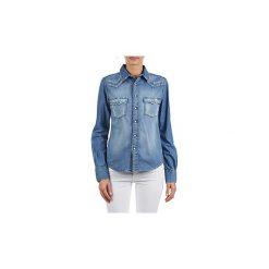 Koszule Acquaverde  MENPHIS. Niebieskie koszule wiązane damskie Acquaverde, l. Za 405,30 zł.