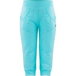 Spodnie niemowlęce: Spodnie w kolorze błękitnym