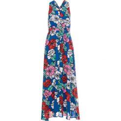 Sukienki: Sukienka w kwiaty bonprix niebieski w kwiaty