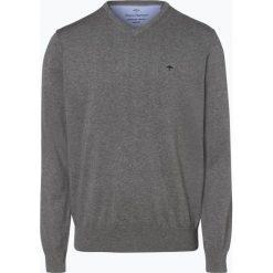 Fynch Hatton - Sweter męski, szary. Szare swetry klasyczne męskie Fynch-Hatton, l, z bawełny. Za 249,95 zł.
