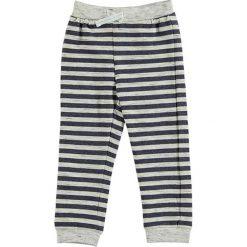 Spodnie niemowlęce: Spodnie dresowe w kolorze szaro-niebieskim