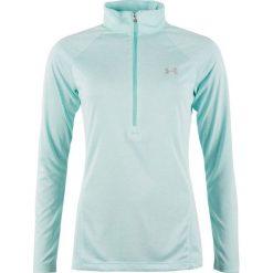 Bluzy sportowe damskie: Under Armour Bluza damska Tech 1/2 Zip Twist miętowa r. L (1320128-425)