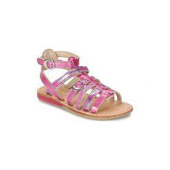 Sandały Dziecko  Noel  SANTO. Czerwone sandały dziewczęce Noel. Za 247,20 zł.